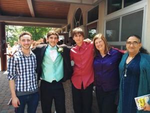 Ben's graduation 2016