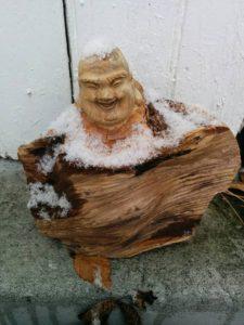 first snow buddha